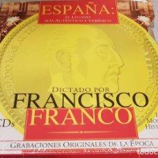 CDs de Música: ESPAÑA EL LEGADO MAS AUTENTICO Y VERÍDICO DICTADO POR FRANCISCO FRANCO 5 CD / PRECINTADO / MUY RARO.. Lote 140145198