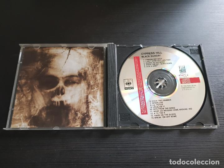 CDs de Música: CYPRESS HILL - BLACK SUNDAY - CD ALBUM - SONY - 1993 - Foto 3 - 140145922