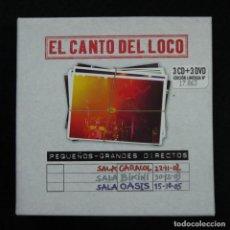 CDs de Música: EL CANTO DEL LOCO - SÓLO LLEVA 1 CD+3 DVDS (FALTAN 2 CDS). Lote 140148278