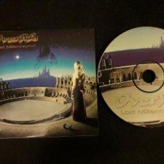 CDs de Música: OVERLIFE - CD PROMOCIONAL LAST MILLENNIUM? (PROGRESSIVE HEAVY METAL 2001 ). Lote 140149714
