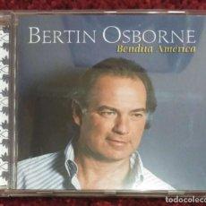 CDs de Música: BERTIN OSBORNE (BENDITA AMÉRICA) CD 2004. Lote 140154006