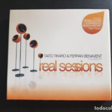 CDs de Música: TAITO TIKARO & FERRAN BENAVENT - REAL SESSIONS - DOBLE CD ALBUM - DIVUCSA - 2008. Lote 140154558