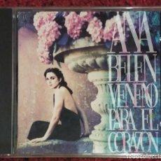 CDs de Música: ANA BELEN (VENENO PARA EL CORAZON) CD 1993 - DUO CON JUAN LUIS GUERRA Y 4.40. Lote 140154994