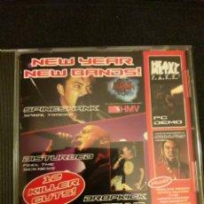 CDs de Música: METAL HAMMER CD NEW YEAR NEW BANDS 2001 - SPINESHANK DROPKICK MURPHYS DISTURBED SOULFLY ETC. Lote 140157880