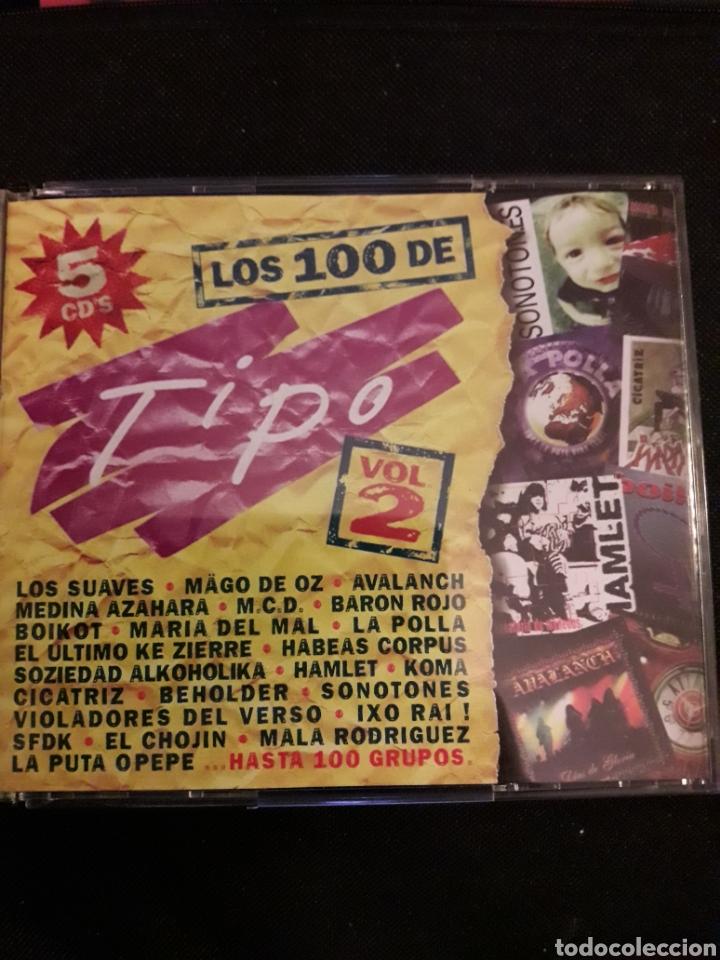 los 100 de tipo volumen 2 - 5 cd - Comprar CDs de Música Rock en ... f52af72dc4