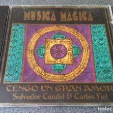 CDs de Música: MUSICA MAGICA SALVADOR CANDEL & CARLOS FIEL. Lote 140165230