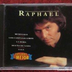 CDs de Música: RAPHAEL (SIMPLEMENTE LO MEJOR) CD 1996. Lote 140171130
