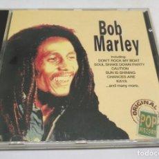 CDs de Música: BOB MARLEY (CD) ORIGINAL POP HISTORY. Lote 140174430
