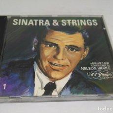 CDs de Música: FRANK SINATRA AND STRINGS. CD. Lote 140177074