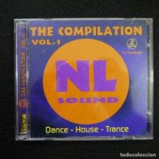 CDs de Música: THE COMPILATION VOL. 1 NL SOUND - DANCE, HOUSE, TRANCE - 2 CDS 1999 . Lote 140199490
