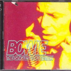 CDs de Música: M - DAVID BOWIE THE SINGLES COLLECTION - 2 CD'S. Lote 140243458
