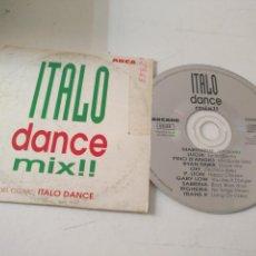 CDs de Música: ITALO MIX CD SINGLE MEZCLA 4,45 MIN. DANCE - MARTINELLI LUCIA PINA DANGIO RAAN PARIS SABRINA TRANS X. Lote 140296382