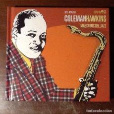 CDs de Música: COLEMAN HAWKINS, DISCO-LIBRO.. Lote 140302506