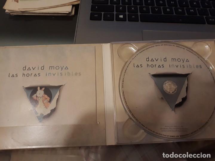 CDs de Música: David Moya. La horas invisibles.2013 - Foto 3 - 140320014