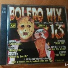CDs de Música: 2CD BOLERO MIX 13 'VV.AA.'. Lote 140332374