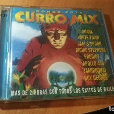 CDs de Música: 2CD DÓNDE ESTÁ CURRO MIX 'VV.AA.'. Lote 140333954