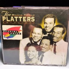 CDs de Música: THE PLATTERS – THE MAGIC TOUCH: AN ANTHOLOGY 2CD. Lote 140340442