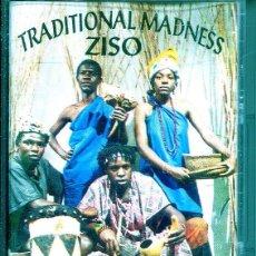 CDs de Música: TRADITIONAL MADNESS / ZISO (MUSICA DEL MUNDO) CASETE. Lote 140349178