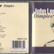 CD de Música: JOHN LEE HOOKER - DIMPLES / CD ALBUM DE 1993 RF-734, BUEN ESTADO ***. Lote 265107664