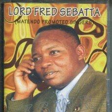 CDs de Música: LORD FRED SEBATTA / NALWEWUBU (MUSICA DEL MUNDO) CASETE. Lote 140349994