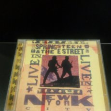 CDs de Música: BRUCE SPRINGSTEEN AND THE E STREET BAND - LIVE IN NEW YORK CITY - 2 CDS. Lote 140359645