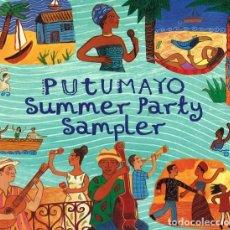 CDs de Música: PUTUMAYO SUMMER PARTY SAMPLER - CD PROMO DIGIPACK . Lote 140364262