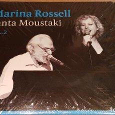 CDs de Música: MARINA ROSSELL CANTA MOUSTAKI / VOL 2 / DIGIPACK-CD - SATELITE K / 10 TEMAS + BONUS / PRECINTADO.. Lote 140375598