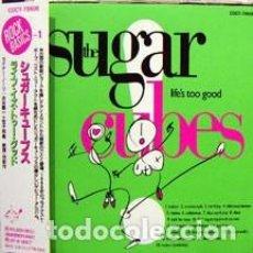 CDs de Música: CD JAPON THE SUGARCUBES – LIFE'S TOO GOOD + BONUS. Lote 140383594