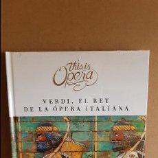 CDs de Música: THIS IS OPERA / NABUCCO DE VERDI / LIBRO CD + DVD / PRECINTADO. Lote 182614881