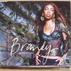 CDs de Música: BRANDY ?– AFRODISIAC - CD SINGLE PROMOCIONAL 2004 - ATLANTIC. Lote 140394082