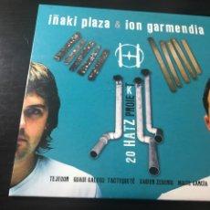 CDs de Música: IÑAKI PLAZA & ION GARMENDIA - 20 HATZ PROIEKT - CD PERCUSIÓN EXPERIMENTAL TIPO FURA. Lote 140404525