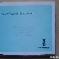 CDs de Música: STATE OF MIND – TAKE CONTROL - CD MAXI SINGLE 4 CORTES 1998 - VENDETTA. Lote 140420902
