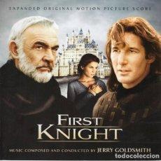 CDs de Música: FIRST KNIGHT / JERRY GOLDSMITH 2CD BSO - LA LA LAND. Lote 140448446