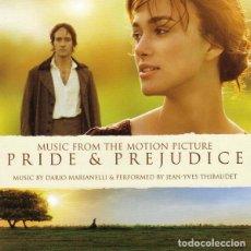 CDs de Música: PRIDE & PREJUDICE / DARIO MARIANELLI CD BSO. Lote 140449574