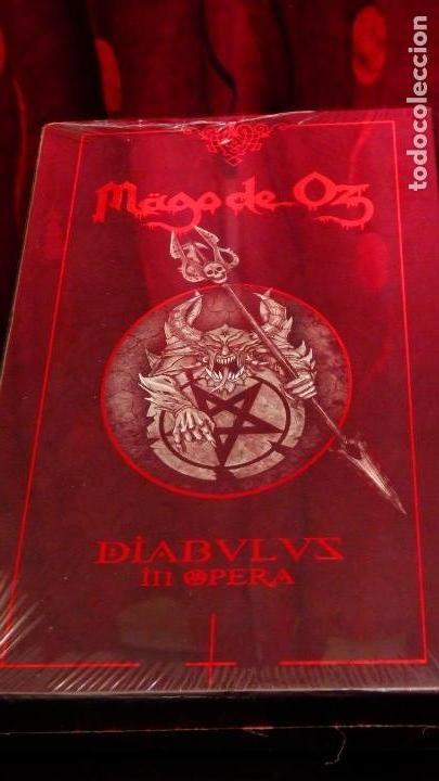 CDs de Música: MAGO DE OZ * Diabulus In Opera * Box Set 2CD+2DVD+LIBRO+PÚA+POSTER * Caja precintada - Foto 8 - 140452046