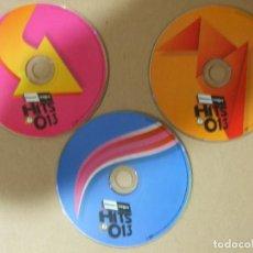 CDs de Música: 3 CD MUSICA HITS 013 ELECTRONICA LATINA POP RECOPILATORIO BLANCO Y NEGRO 60 TEMAS 2013 ORIGINAL . Lote 140460414