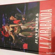 CDs de Música: JUAN PERRO & LA ZARABANDA CD+DVD. Lote 140461554