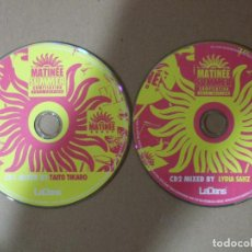 CDs de Música: 2 CD MUSICA ELECTRONICA MATINEE GROUP COMPILATION SUMMER 2013 EDITION 30 TEMAS ORIGINAL. Lote 140461722