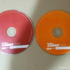 CDs de Música: 2 CD MUSICA ELECTRONICA FLAIX FM SUMMER 2012 EDITION RECOPILATORIO 45 TEMAS ORIGINAL. Lote 140462610