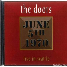 CDs de Música: THE DOORS – LIVE IN SEATTLE ROCK CLASSIC ROCK. Lote 140464426