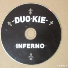 CDs de Música: CD MUSICA RAP DUO KIE INFERNO 14 TEMAS MUY ESCASO RARO ORIGINAL. Lote 140467954