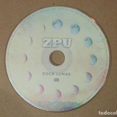CDs de Música: CD MUSICA RAP ZPU DOCE LUNAS 19 TEMAS MUY ESCASO RARO ORIGINAL. Lote 140470218