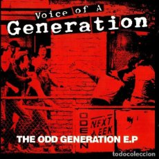 CDs de Música: VOICE OF A GENERATION - THE ODD GENERATION EP. Lote 140470330