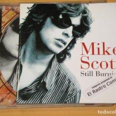 CDs de Música: MIKE SCOTT (THE WATERBOYS), STILL BURNING, CD, ERCOM. Lote 140485474