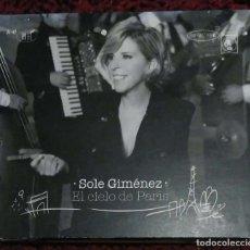CDs de Música: SOLE GIMENEZ (EL CIELO DE PARIS) CD 2012 - EDITH PIAF, CHARLES AZNAVOUR, GILBERT BECAUD..... Lote 140485498