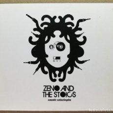 CDs de Música: CD MÚSICA CANCIONES ZENO AND THE STOICS 13 CANCIONES COMIC CATASTROPHE EMI 2009. Lote 140486922