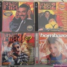 CDs de Música: COLECCIÓN BOMBAZO MIX (VOLÚMENES DEL 1 AL 4). Lote 140490478