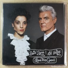 CDs de Música: CD MÚSICA CANCIONES DAVID BYRNE ST VINCENT LOVE THIS GRANT 12 CANCIONES 2012. Lote 144930825