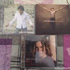 CDs de Música: COLECCIÓN 3 CDS DAVID BISBAL. Lote 140491106