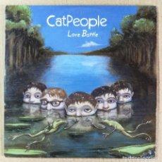 CDs de Música: CD MÚSICA CANCIONES CATPEOPLE LOVE BATTLE 10 CANCIONES. Lote 140491390